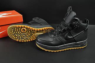 Ботинки Nike Lunar Force 1 арт 20664 (зимние, найк, черные), фото 3