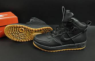 Ботинки Nike Lunar Force 1 арт 20668 (зимние, найк, черные), фото 3