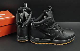 Ботинки Nike Lunar Force 1 арт 20668 (зимние, найк, черные), фото 2