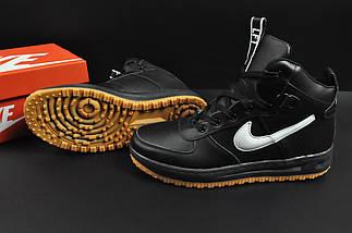 Ботинки Nike Lunar Force 1 арт 20667 (зимние, найк, черные), фото 3