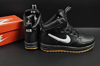 Ботинки Nike Lunar Force 1 арт 20667 (зимние, найк, черные), фото 2