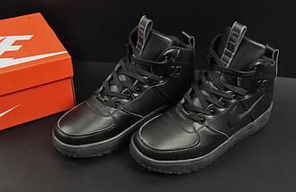 Ботинки Nike Lunar Force 1 арт 20666 (зимние, найк, черные), фото 3