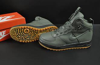 Ботинки Nike Lunar Force 1 арт 20665 (зимние, найк, хаки), фото 3
