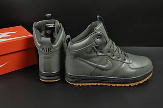 Ботинки Nike Lunar Force 1 арт 20665 (зимние, найк, хаки), фото 2
