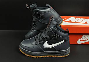 Ботинки Nike Lunar Force 1 арт 20660 (зимние, найк, синие), фото 2