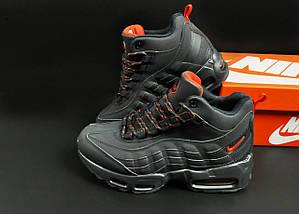 Ботинки Nike Air Max 95 Sneakerboot арт 20658 (зимние, найк, синий), фото 2