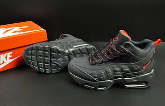 Ботинки Nike Air Max 95 Sneakerboot арт 20658 (зимние, найк, синий), фото 3