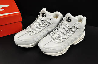 Ботинки Nike Air Max 95 Sneakerboot арт 20656 (зимние, найк, белые), фото 3