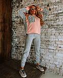 Жіночий повсякденний в'язаний костюм: світшот на флісі і вовняні штани (в кольорах), фото 6