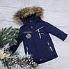 Зимняя куртка 1121 на 100% холлофайбере размеры от 86 см до 110 см рост