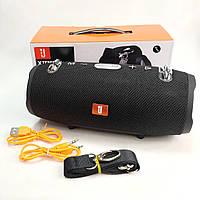 Портативная bluetooth колонка блютуз акустика для телефона с флешкой повербанк черная Xtreme2 mini