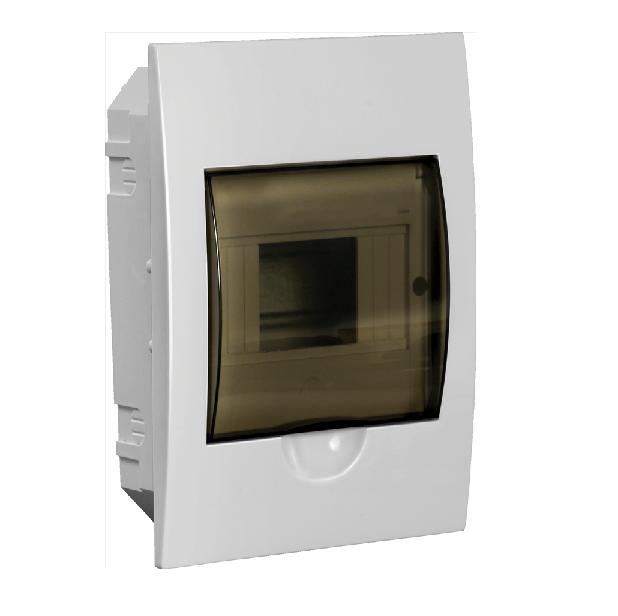 Бокс ЩРВ-П-6 модулів вбудовується пластик IP41 LIGHT ІЕК [MKP12-V-06-40-20-L]