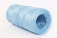 Шпагат полимерный, вес 4 кг, длина 2000 м.п., 2000_tex, голубой - Беларусь