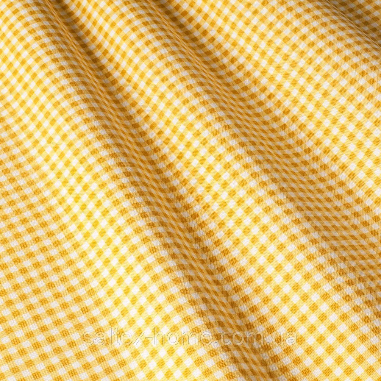 Скатерть в мелкую клетку с тефлоновым покрытием