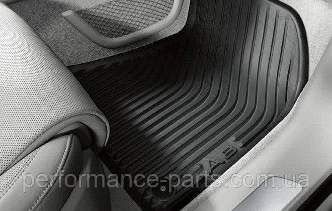 Коврики салона резиновые передние Audi A8 D4 4H1061501041