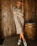 """Жіноча в'язана сукня вільного крою під голо """"Квадрат"""" (в кольорах), фото 7"""