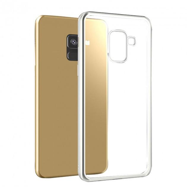 Силиконовый чехол на Samsung Galaxy A8+ (2018) / A730