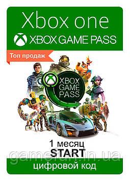 Xbox Game Pass 1 Месяц (Start) (Все страны) (цифровой код)