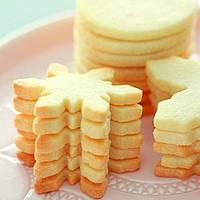 Печиво пісочно-ванільне для брендування та декорування  [сніжинка]
