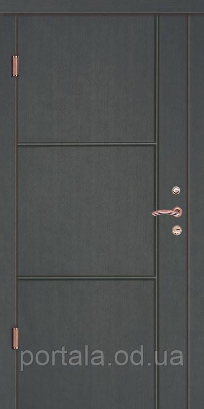 """Входная дверь для улицы """"Портала"""" (Люкс Vinorit) ― модель Флорида"""