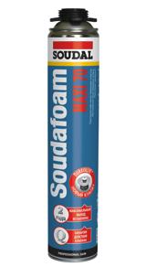 Пена монтажная с увеличенным выходом профессиональная Soudafoam MAXI 70 870 мл.