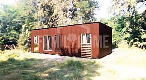 """Мобильный дом """"МОДЕРН 1-37"""" 37м2., гостиная с кухней, спальня, санузел., фото 2"""