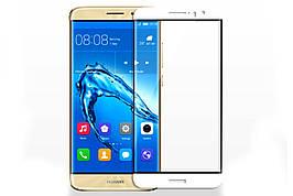 Защитное стекло 5D Glass Premium Huawei Nova 2+ Plus White