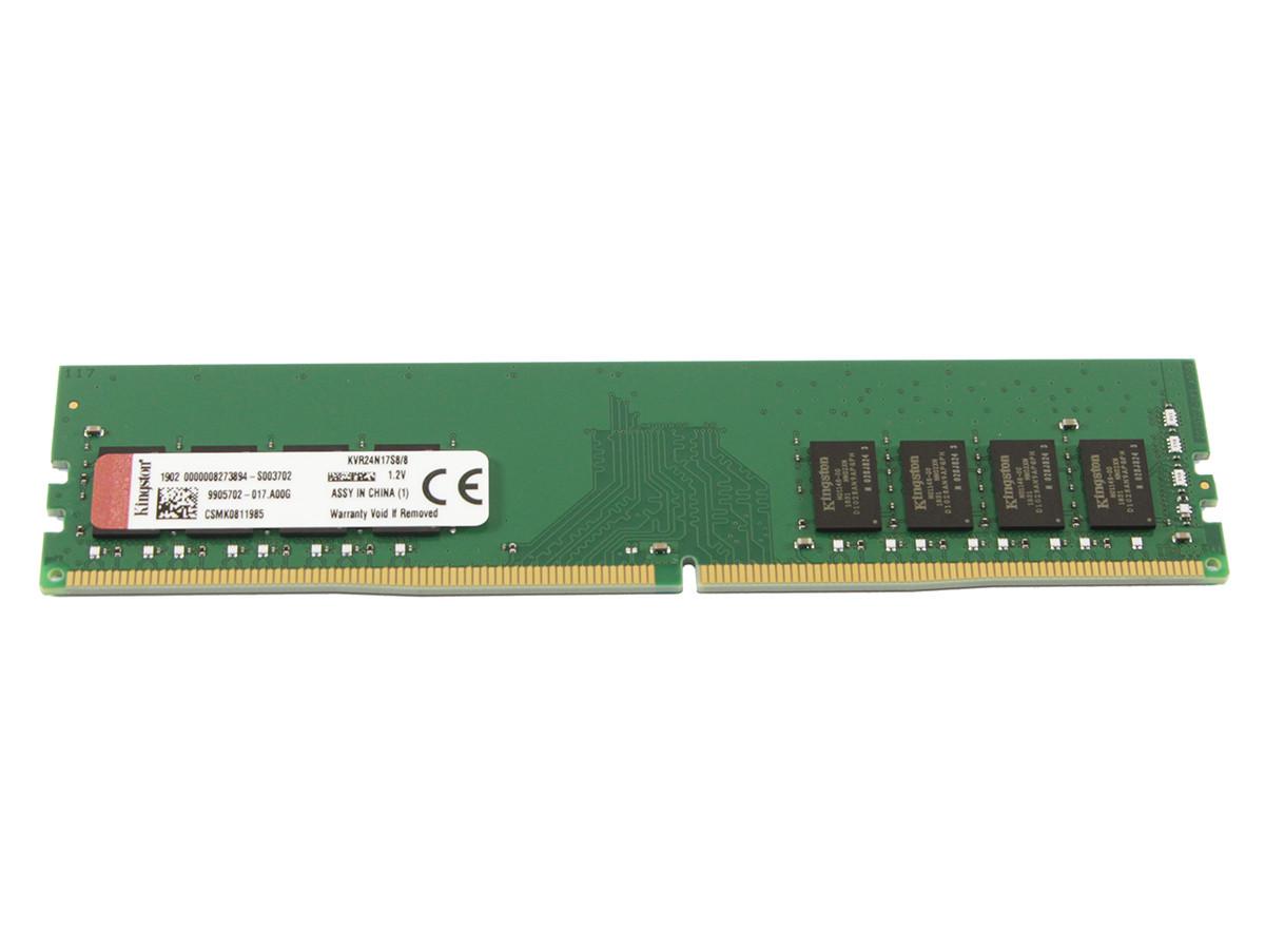 Оперативная Память Kingston DDR4 8GB 2400MHz (KVR24N17S8/8) — в ...