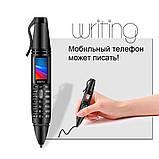 Ручка телефон, диктофон, плеер, фонарь SERVO K07, фото 2