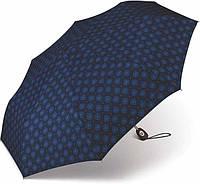 Класичний синій зонт жіночий Pierre Cardin (повний автомат), фото 1