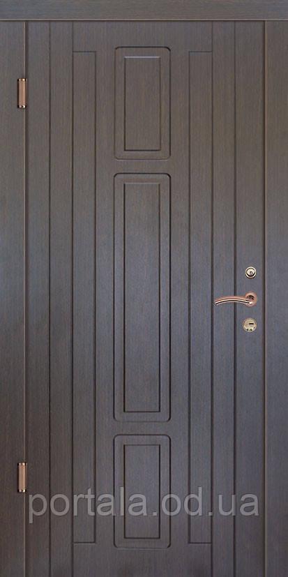 """Входная дверь для улицы """"Портала"""" (Люкс Vinorit) ― модель Нью-Йорк, фото 1"""