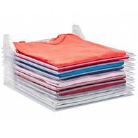 Органайзер для одежды Ezstax T-shirt  набор для хранения вещей