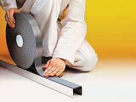 Звукоизоляционная лента ХС тощ. 3;5 мм, шир. 30;50;70;90мм, дл. 25;30м.