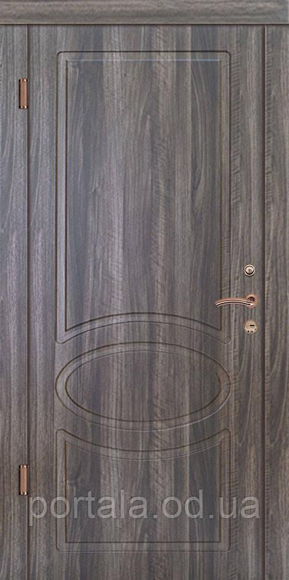 """Вхідні двері для вулиці """"Портала"""" (Люкс Vinorit) ― модель Оріон-Нова"""