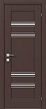 Дверь межкомнатная Rodos Freska Donna полустекло, фото 4