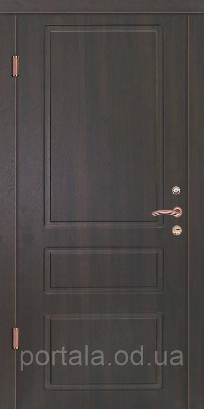 """Входная дверь для улицы """"Портала"""" (Люкс Vinorit) ― модель Осень"""