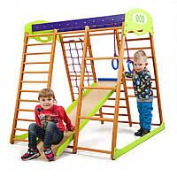 Детский спортивный комплекс для квартиры «Карамелька мини» SportBaby, фото 1