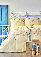 Постельное белье евро Lupines ранфорс Karaca Home