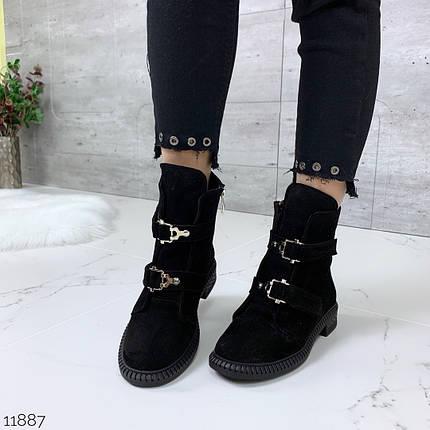 Ботинки без каблука осень, фото 2