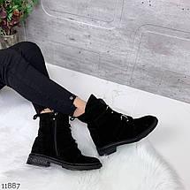 Ботинки без каблука осень, фото 3