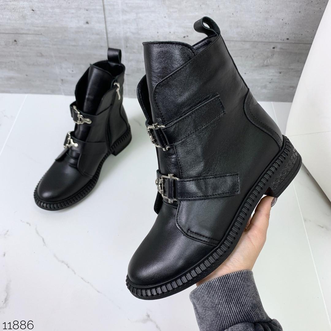 Ботинки женские осень без каблука