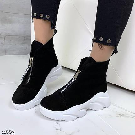 Ботинки на высокой платформе, фото 2