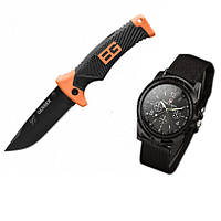 Нож Gerber Bear Grylls Ultimate и часы SwissArmy - 207637