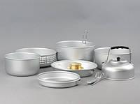 Набор посуды MIL-TEC  с горелкой алюминий (14700500), фото 1
