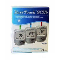 Анализатор крови EasyTouch, глюкоза, холестерин, гемоглобин