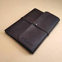 Блокнот из натуральной кожи. Софтбук кожаный с лазерной гравировкой изображений