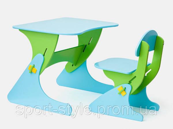 Стул и стол с регулируемой высотой SportBaby