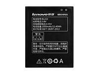 Аккумулятор BL222 (Li-Polymer 3.8V 3000mAh) для мобильного телефона Lenovo S668T