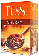 """Чай черный Tess """"Чері Хербал"""" листовой 90г."""