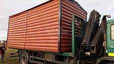 """Мобильный дачный домик """"КЛАССИК 1-18"""" 18м2., на основе цельно-сварного металлического каркаса., фото 2"""